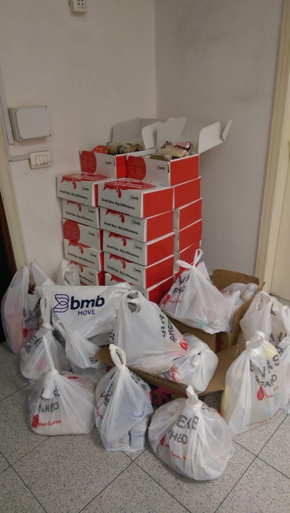 "BMB Employees Participate in ""The Box Appeal"" Initiative"