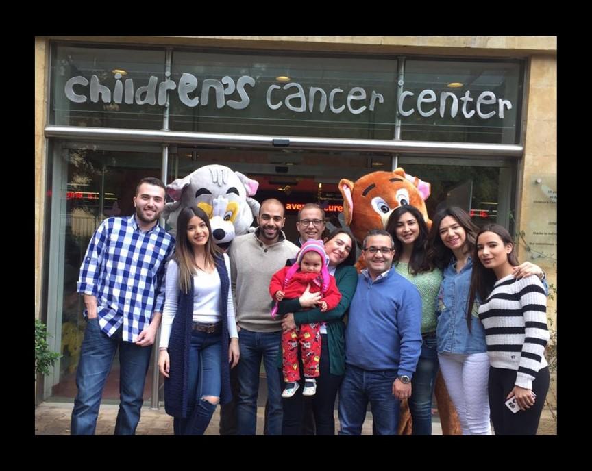 BMB Group visits the Children's Cancer Center of Lebanon
