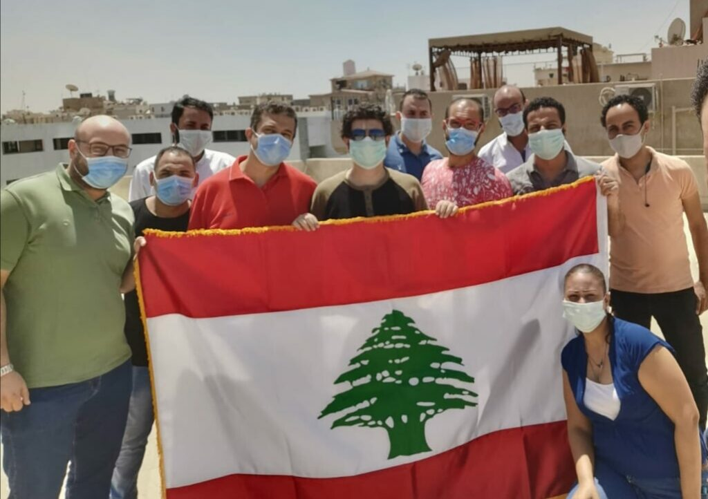 BMB Egypt shows solidarity to Lebanon following Beirut blast